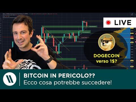 BITCOIN in PERICOLO? ECCO COSA POTREBBE SUCCEDERE! | DOGECOIN to the MOON: verso 1$?