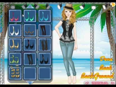 Merhaba Süper kız - puanlı giysi giydirme oyunları - kikirti.com