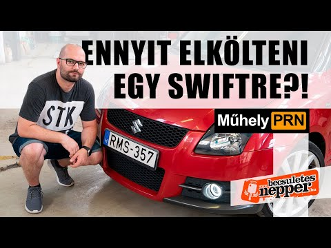 """MűhelyPRN 115: Suzuki Swift <span class=""""search-everything-highlight-color"""" style=""""background-color:orange"""">Sport</span> – 2007."""