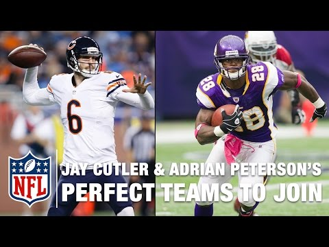 Jay Cutler and Adrian Peterson's Best Landing Spots | NFL | Around the NFL