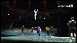 ¿Qué hay detrás del escenario del Cirque du Soleil?