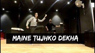 MAINE TUJHKO DEKHA (Golmaal Again)   Tejas Dhoke Choreography   Dance Fit LIve