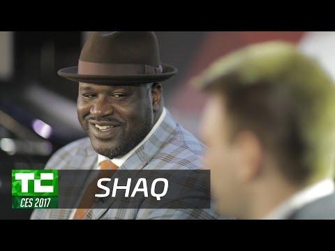 Shaq is a geek who loves TechCrunch