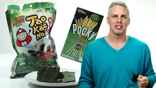 Irish People Taste Test Japanese Snacks