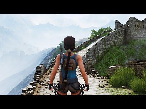 Tomb Raider 2 The Dagger Of Xian   Extended Gameplay Walkthrough (Fan Nicobass  Remake) Ver1.2