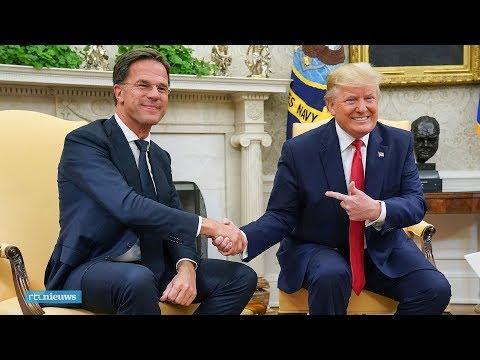 Zo wordt Rutte ontvangen door Trump: 'We zijn vrienden geworden' - RTL NIEUWS