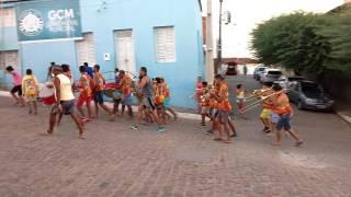 Orquestras de frevo em Traipu
