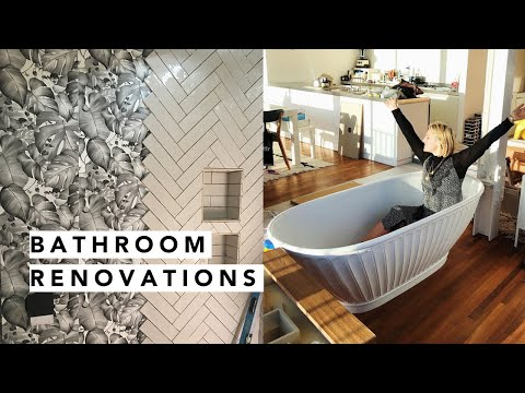 UNVEILING MY NEW BATHROOMS! | Estée Lalonde