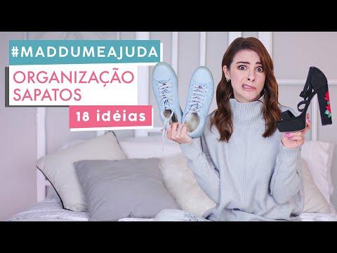 Como Organizar Sapatos & Decorar ao mesmo tempo? #MaddumeAjuda