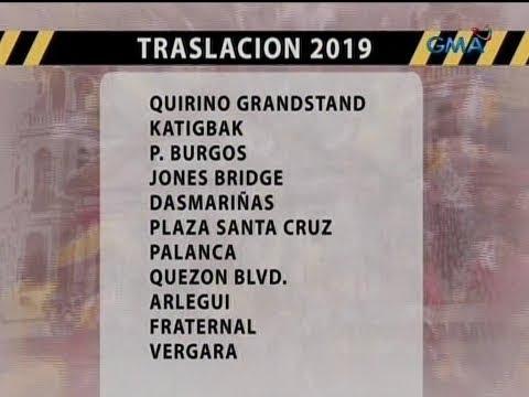 UB: Traslacion 2019