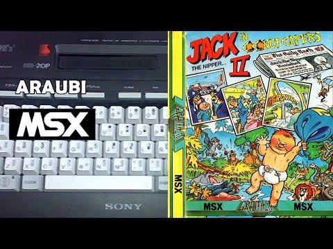 Jack the Nipper in Coconut Capers (Gremlin, 1987) MSX [786] Walkthrough