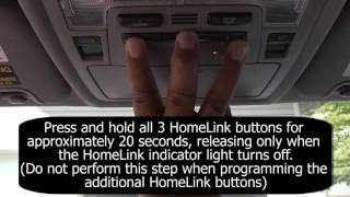 Toyota HomeLink Training - Sommer Garage Doors video poster
