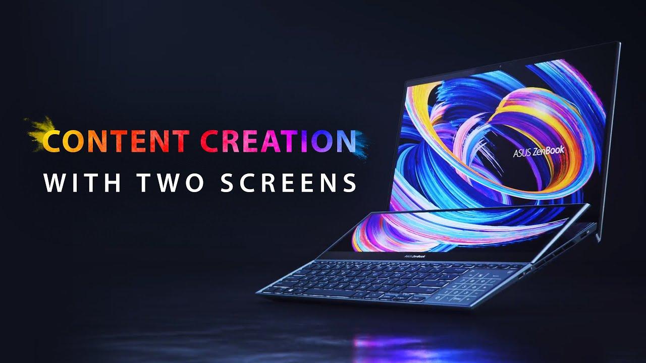 ZenBook Pro Duo 15 OLED (UX582)|Laptops For Creators|ASUS Global