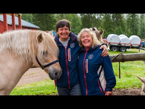 Møt Svein og Gry på Trysil hestesenter - har verdens beste kollegaer