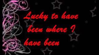 Lucky - Jeremy Shada & Chloe Peterson (Lyrics)