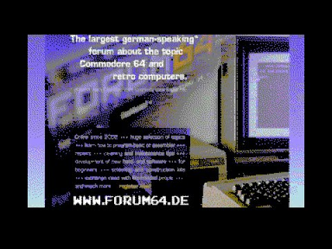 Commodore 64 - Forum64 Trailer (Nuvie Movie), recorded from Ultimate64