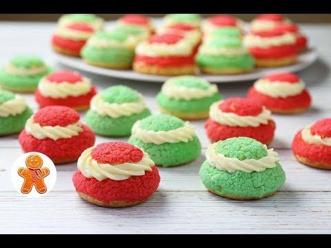 Новогодние Заварные Пирожные ✧ Профитроли с Заварным Кремом.
