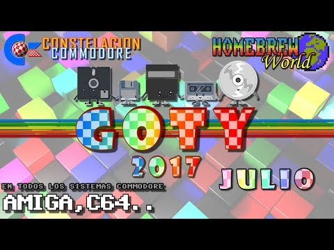 GOTY 2017 CC Julio Juegos Amiga, C64, Plus4, VIC20.. | Homebrew World #0011