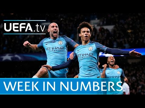 Manchester City, Falcao, Griezmann, Juventus: Champions League week in numbers