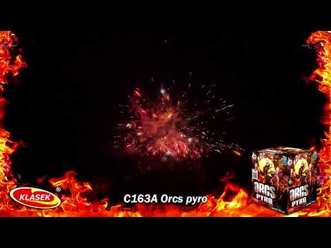 Pyrotechnika Kompakt 16ran / 30mm Orcs Pyro