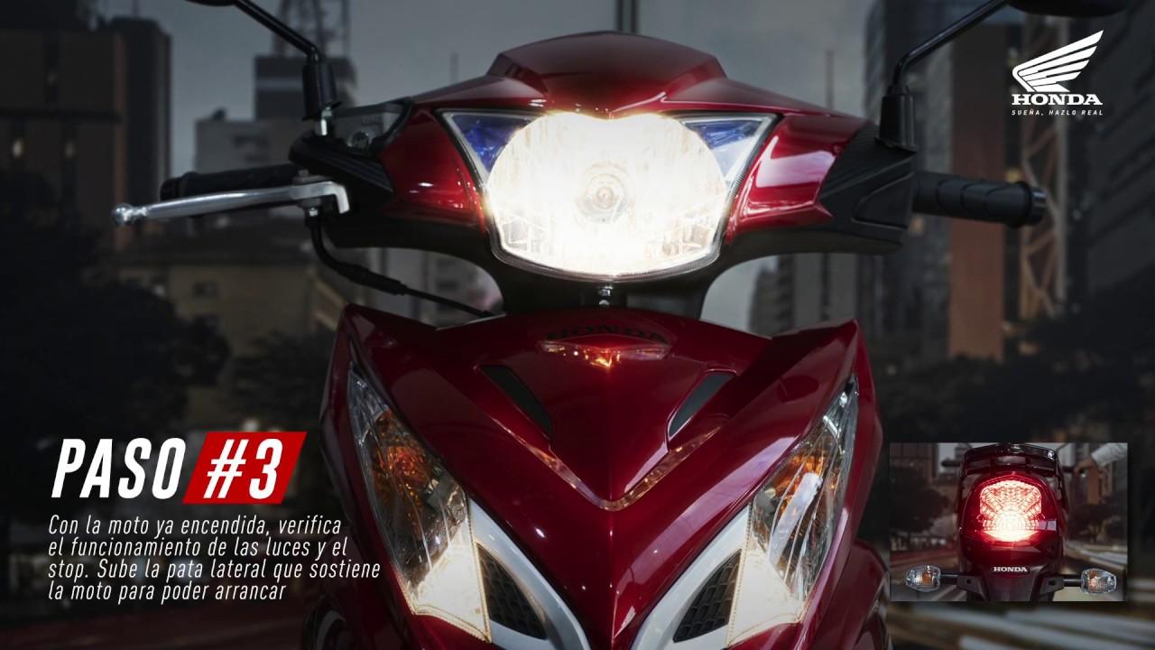 Aprende a manejar tu moto semiautomática