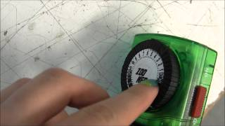 How to Use an Analog Timer