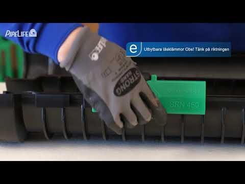 Pipelife Divio™ - Ett starkt och säkert delbart kabelskyddsrör
