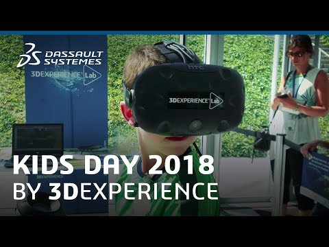 Kids Day 2018 by 3DEXPERIENCE - Dassault Systèmes