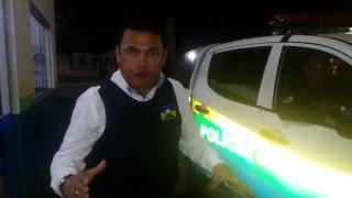 ROSINALDO GUEDES ACOMPANHA POLÍCIA MILITAR EM AÇÃO 24 HORAS