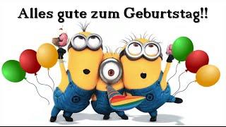 Zum Geburtstag viel Glück! (Parabéns para você em alemão)