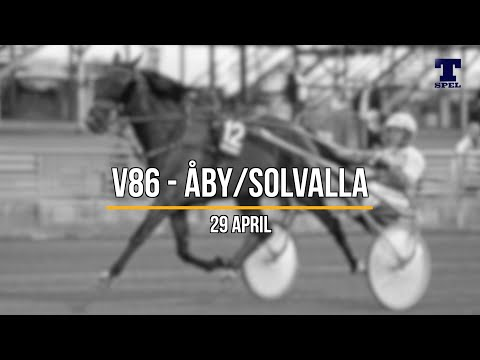 Travtips V86 Solvalla/Åby - 29 april