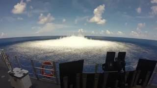 Watch A Powerful Shock wave From A 10,000 Pound Underwater Explosive Test
