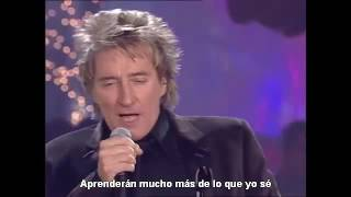 Rod Stewart - What a wonderful world (subtitulado español)