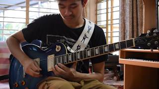 Miss May I - Shadows Inside Guitar Solo Cover By Arnab Chakraborty