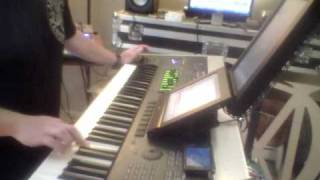 Dream Theater - A Rite of Passage (cover) Keyboard Solo - Korg Oasys