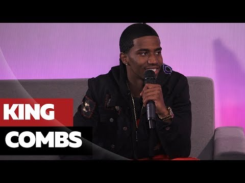 King Combs on 90's Baby, East vs. West + Googling His Dad