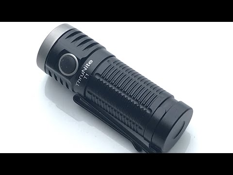 Thrunite T1 Everyday Carry Flashlight Review: 1500 Lumen Max, Infinity Cycle - Solid Light