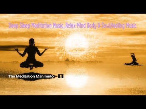 Deep Sleep Meditation Music, Relax Mind Body & Soul, Healing Music , Soothing Relaxing,