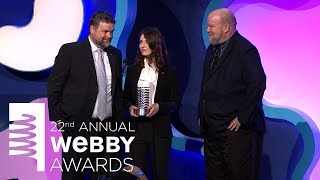 NASA Jet Propulsion Laboratory's 5-Word Speech at the 22nd Annual Webby Awards
