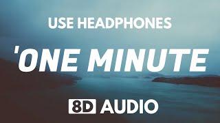 XXXTENTACION - One Minute (8D Audio) (feat. Kanye West)
