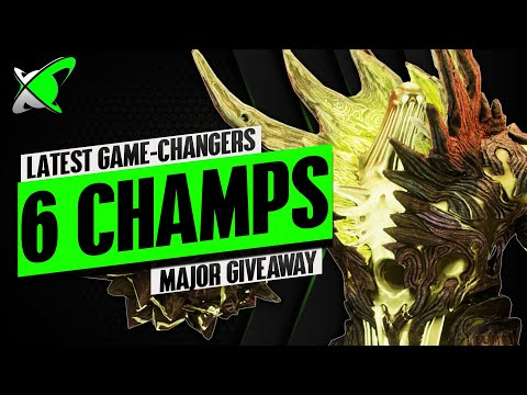 THESE 6 CHAMPS MADE MY ACCOUNT WAY BETTER !! | Whale Account Giveaway | RAID: Shadow Legends