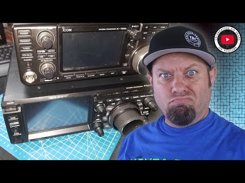 Icom IC-7300 vs Yaesu FTDX 10   HF Ham Radio