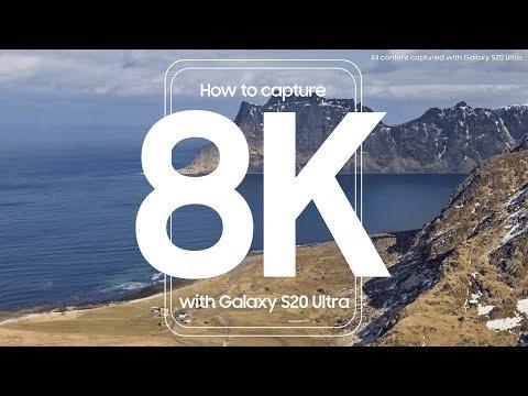 Skab utroligt skarpt videoindhold med 8K-funktionen