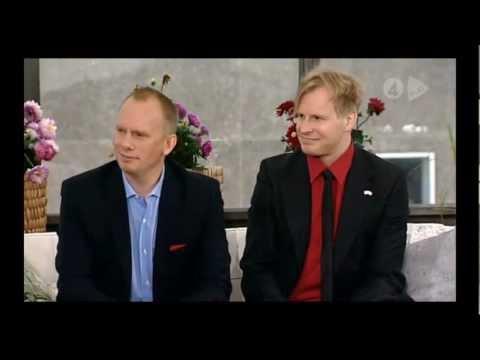 Micke Askernäs på Nyhetsmorgon 2012-07-17 del 2