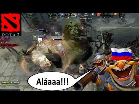 DOTA 2 en Español - Techies ruso se sacrifica por Alá || Gameplay 7.07