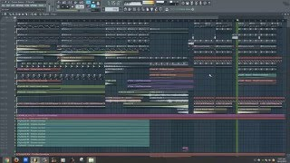 Thomas Newson   Wildfire Original Mix FL Studio Remake sur FLP