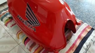 Tanque da Honda cb300/2012 Recuperado pelo Ale Moto Pinturas.