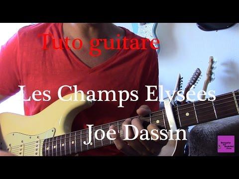 Comment jouer les Champs Elysées de Joe Dassin à la guitare (débutant)