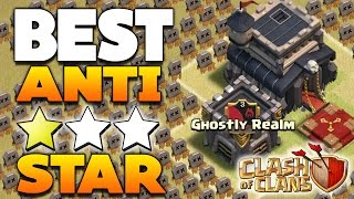 "Clash Of Clans - ""BEST!"" TH9 ANTI 3 STAR WAR BASE! / CoC TOWN HALL 9 TROPHY BASE DEFENSE 2016!"
