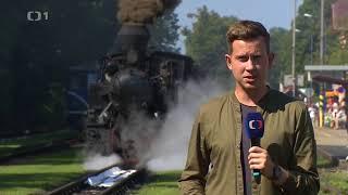 Nejstarší parní lokomotiva U37.002 JHMD dojezdila - reportáž ČT
